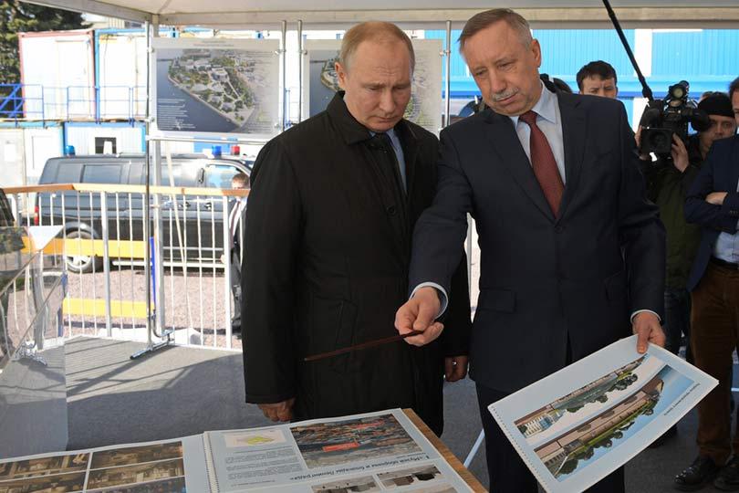 Путин и Беглов