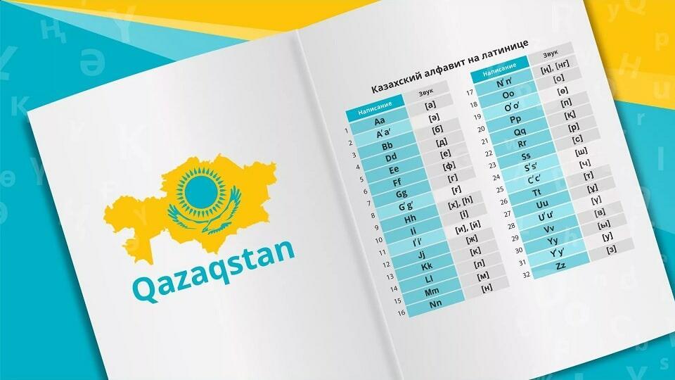 Казахстан - латиница