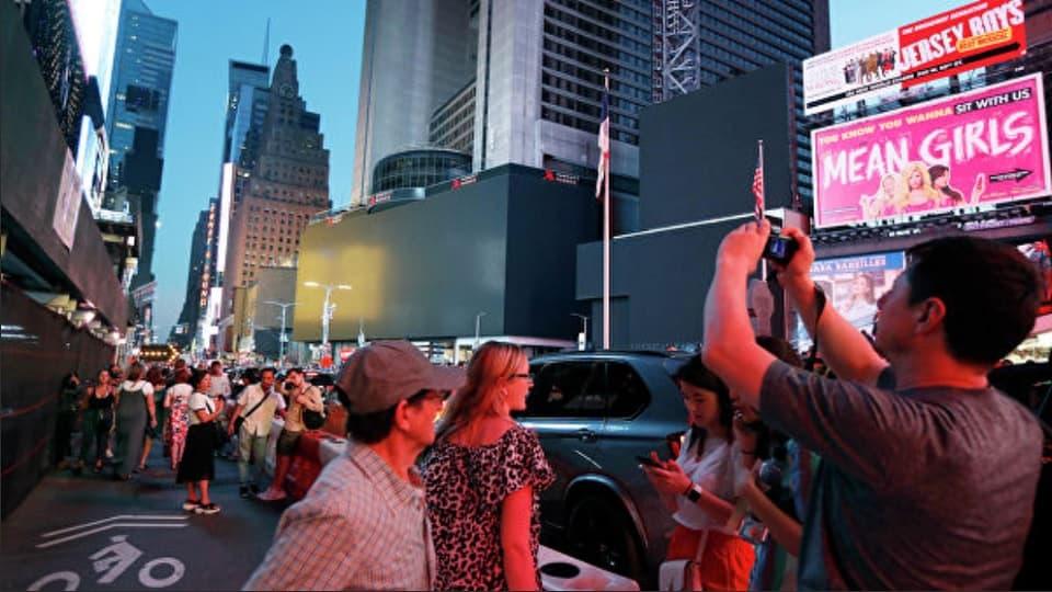 Нью-Йорк без электричества