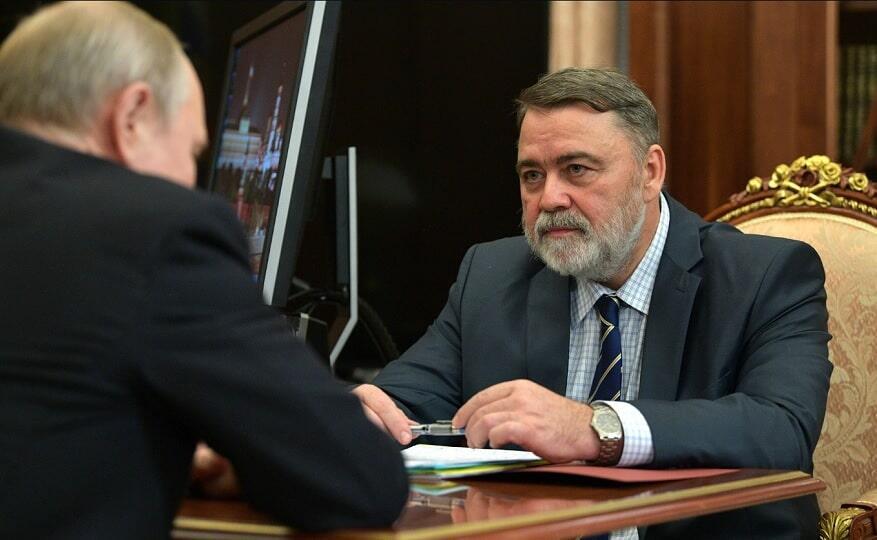 Путин с Игорем Артемьевым