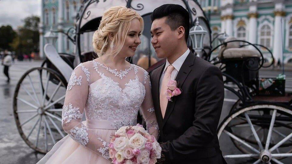 Русско-китайская свадьба