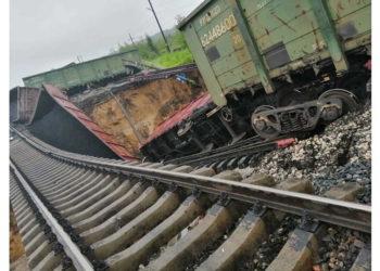 Сход вагонов с рельсов
