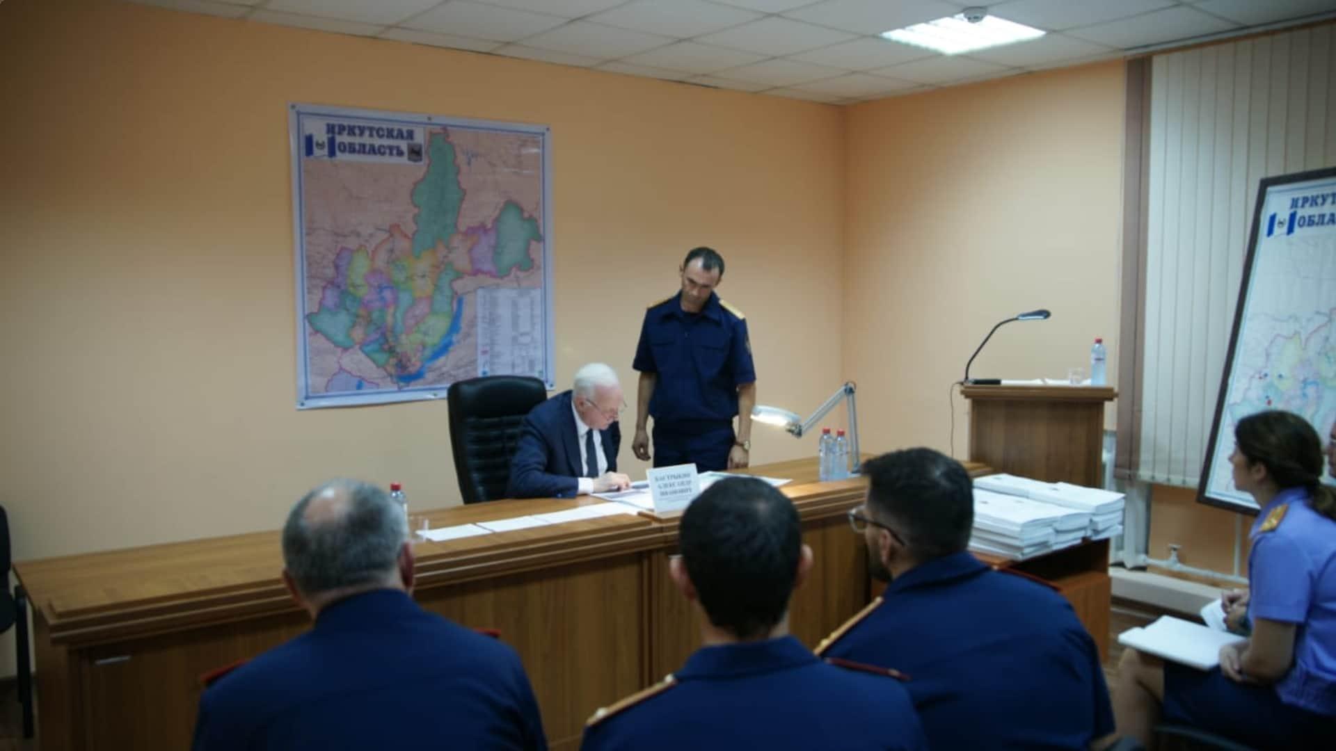 Совещание СК по Иркутской области