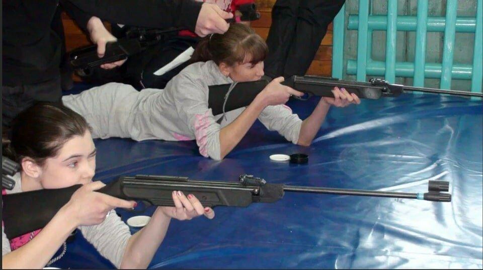 Тренировка по стрельбе