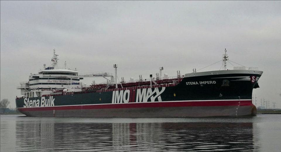 Задержание британского танкера
