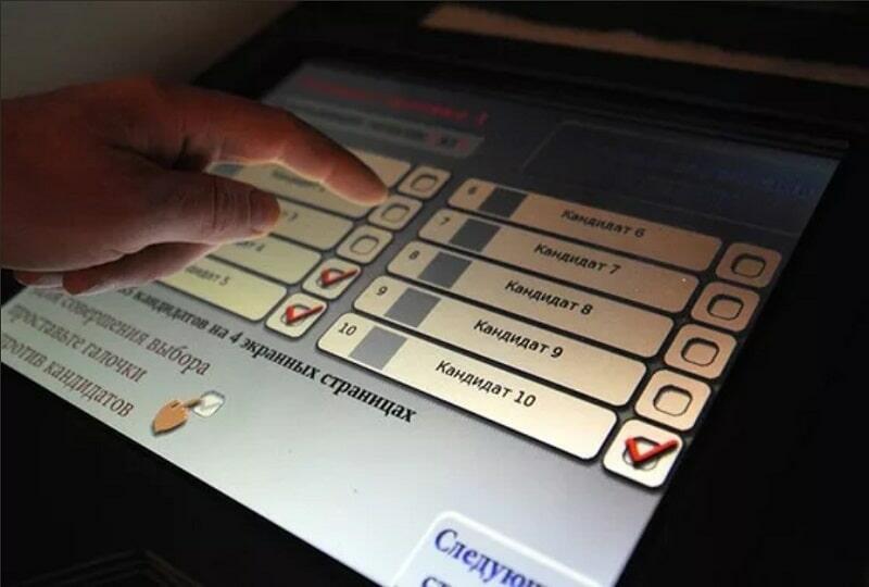 Электронное голосование - тест