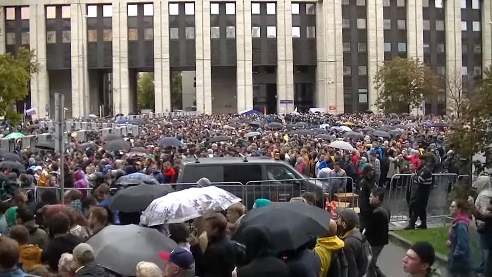 Митинг на проспекте Сахарова 10_08_19