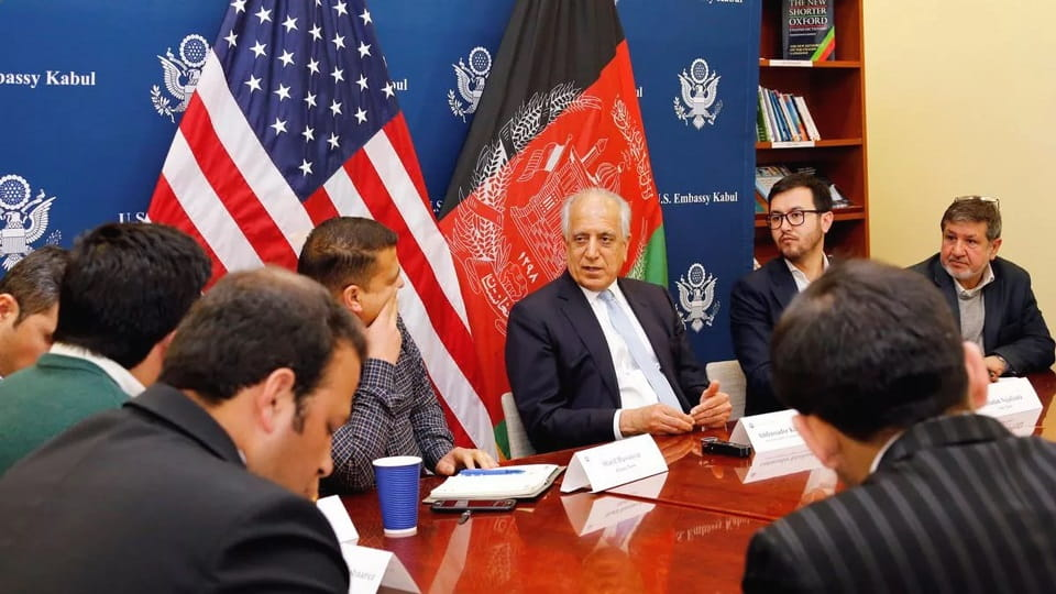 Переговоры США с талибами