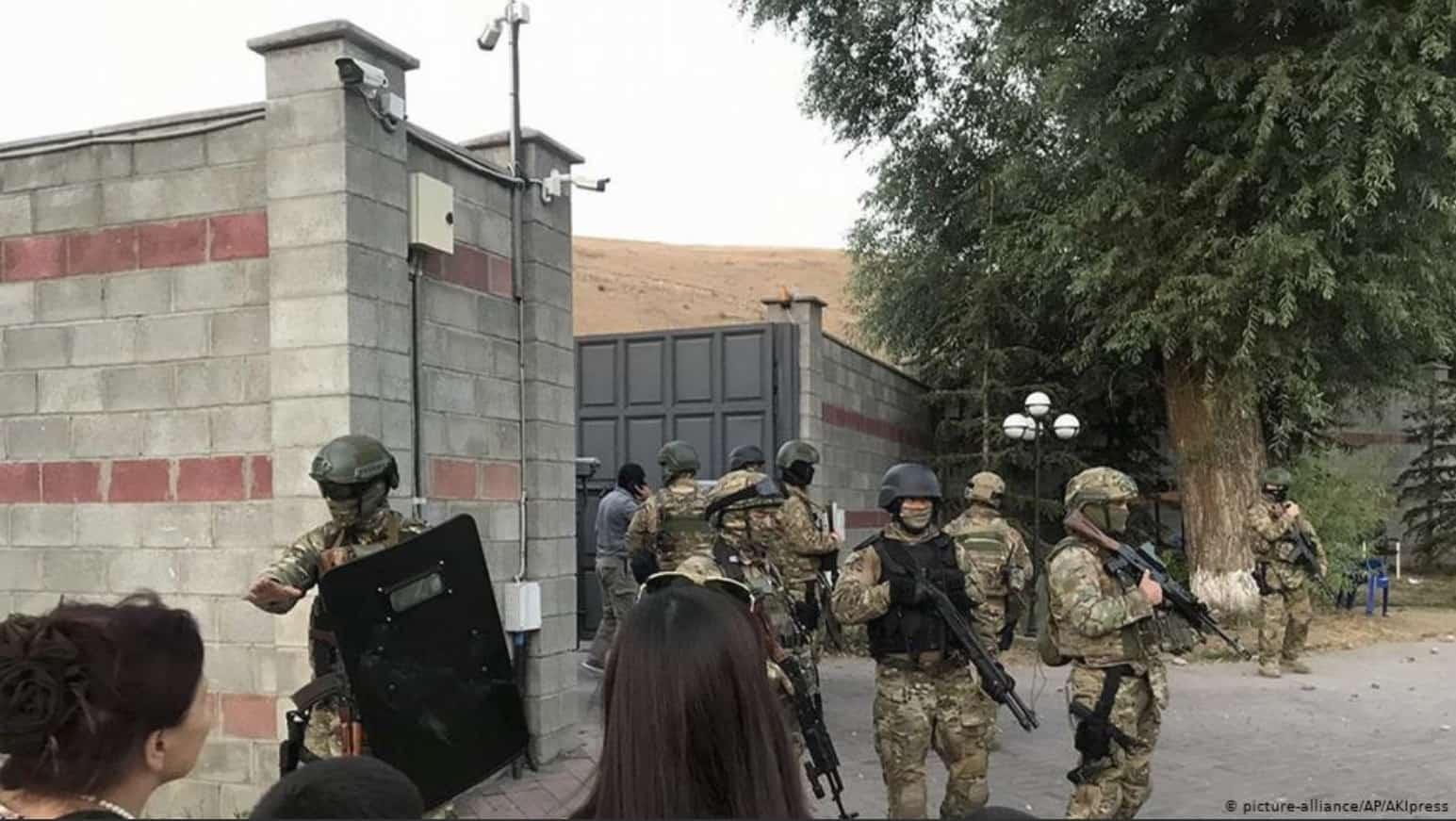 Штурм резиденции Атамбаева