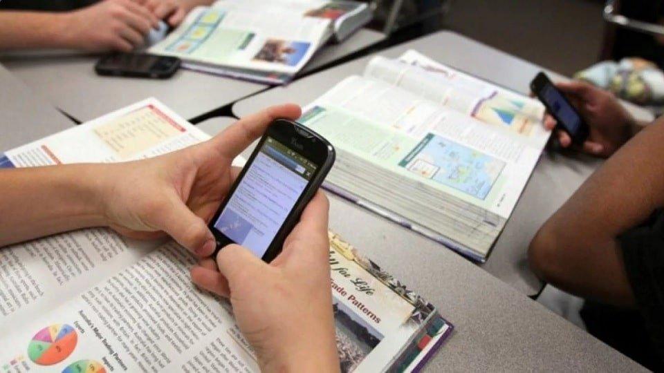 Телефоны на уроке