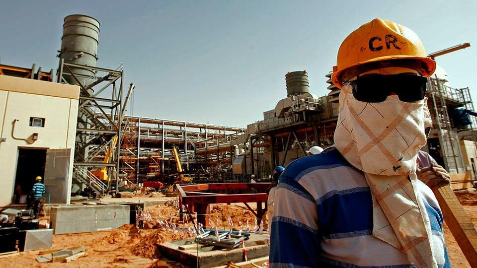 Нефть в Саудовской Аравии