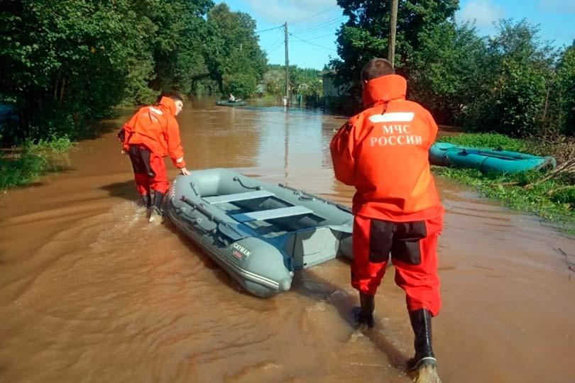 Затопленный Хабаровский край