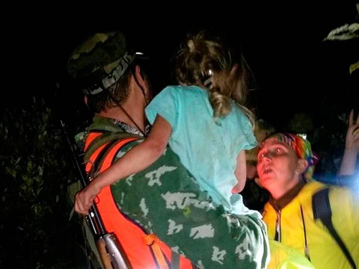 Спасение пятилетней девочки