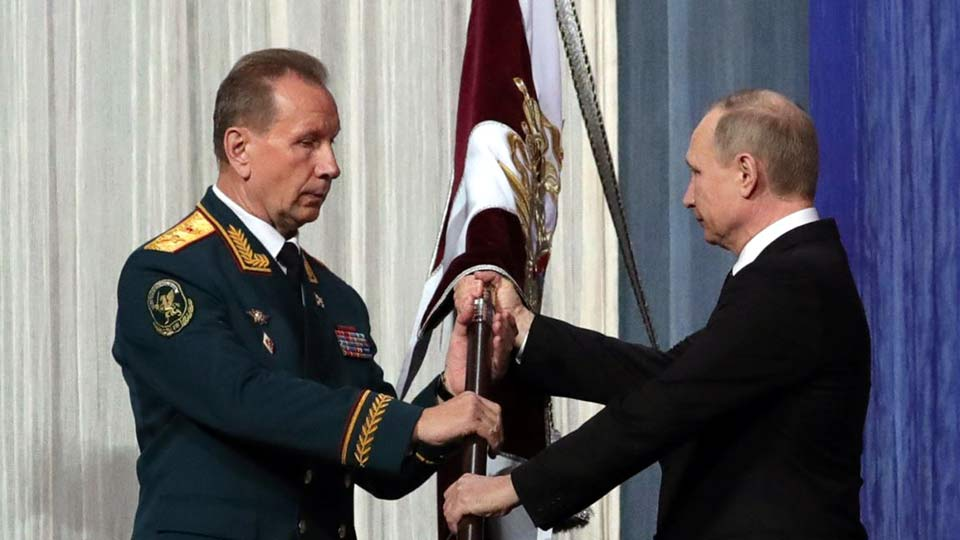 Путин и Росгвардия