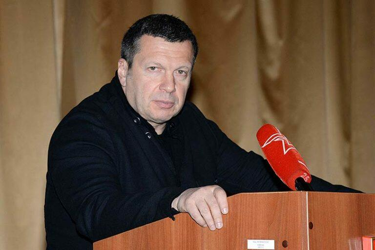 Даже главному кремлевскому пропагандисту Соловьеву надоело лицемерить, и он заступился за Скворцову