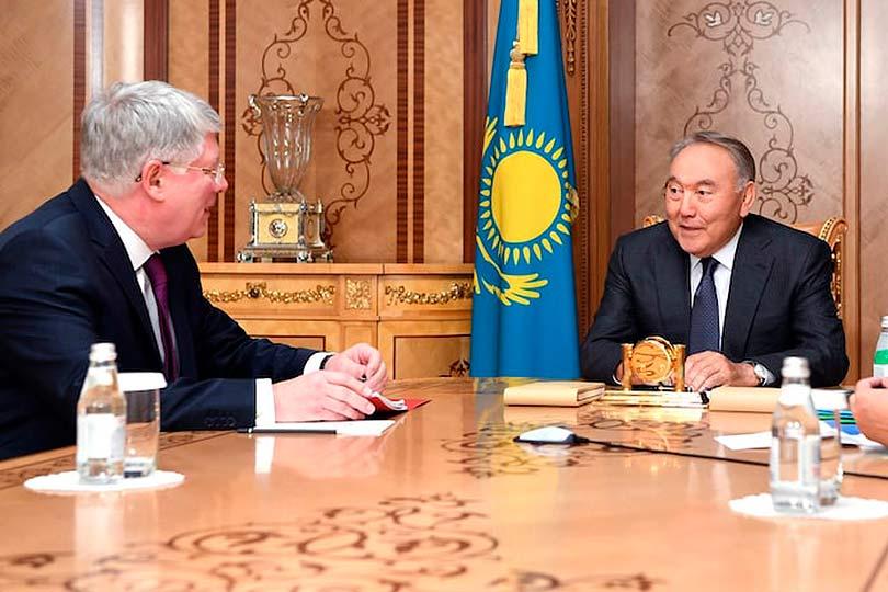 Бородавкин и Назарбаев