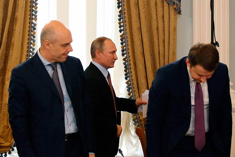 Путин, Орешкин и Силуанов
