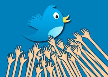 Twitter улетает
