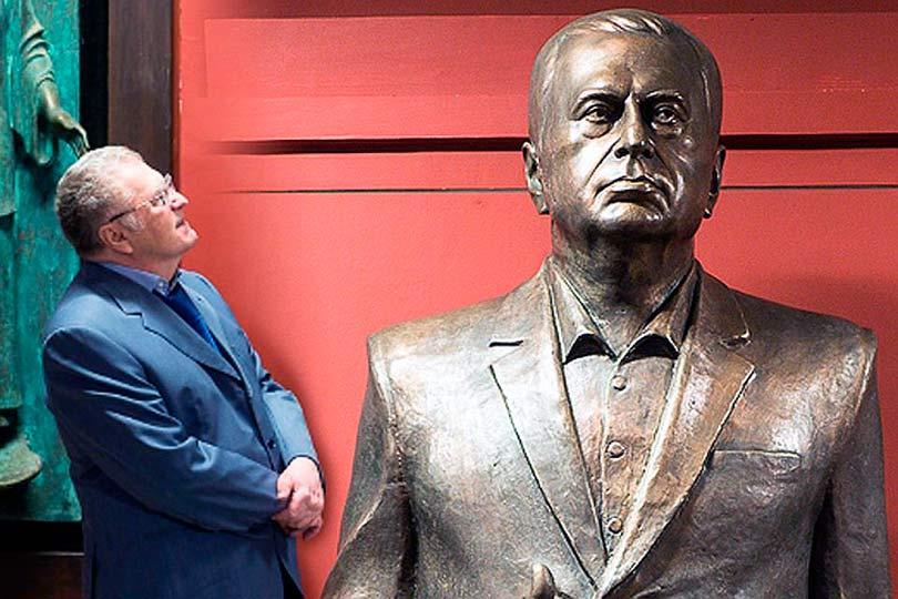 Жириновский и его памятник