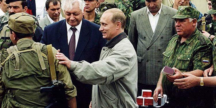 Путин в Дагестане