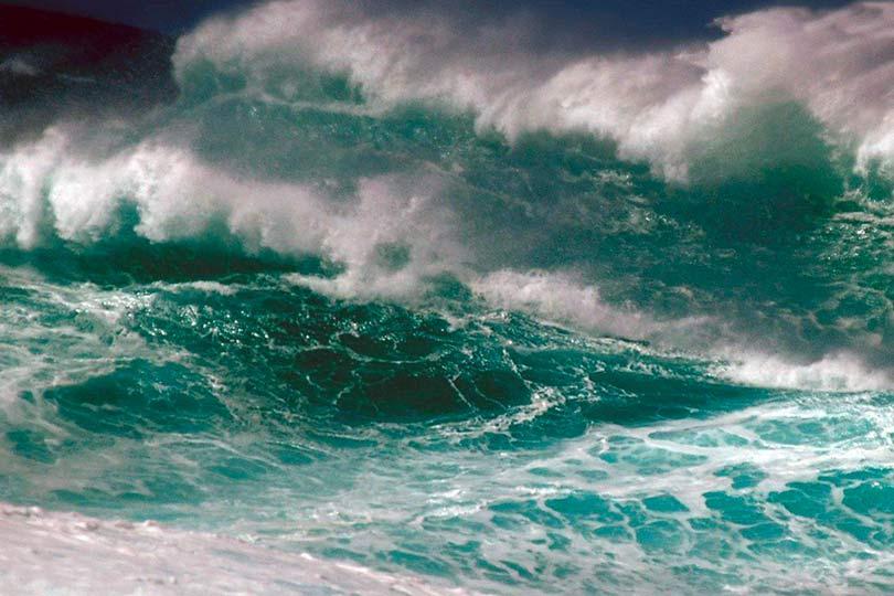 Землетрясение в море