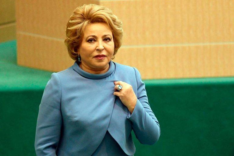 Матвиенко предложила россиянам с сочувствием отнестись к богатым и не осуждать их переход на госслужбу