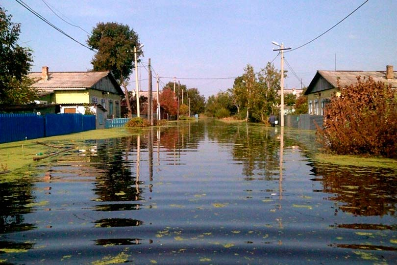 Наводнение в Приморье
