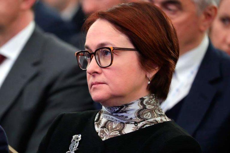 Все разговоры Путина о вставании России с колен заканчиваются, едва лишь речь заходит об Эльвире Набиуллиной