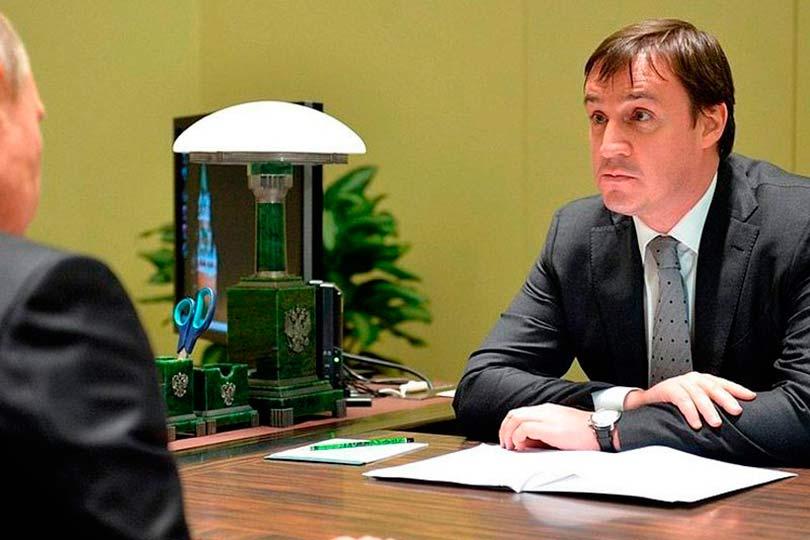 Дмитрий Патрушев с Путиным