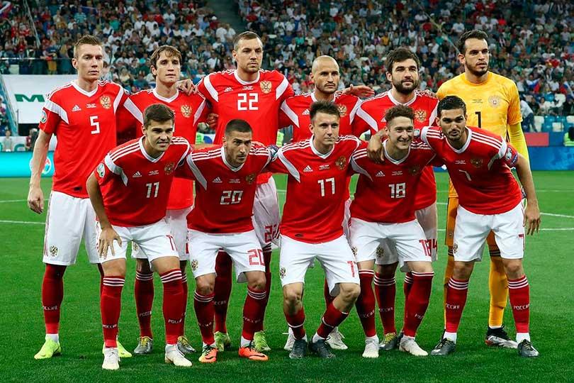 Сборная РФ по футболу - 2019