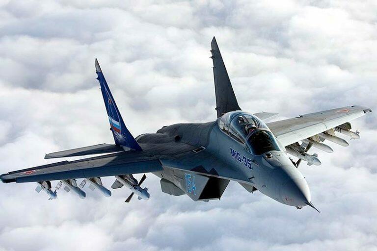 Стали известны технические подробности новейшего истребителя МиГ-35