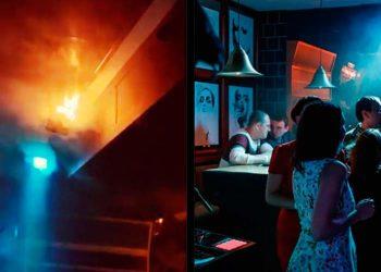Пожар в клубе Екатеринбурга Alibi
