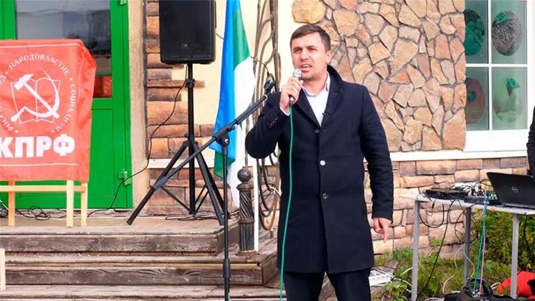 Николай Бондаренко посетил мусорный полигон в Шиесе и призывал к смене власти законным путем