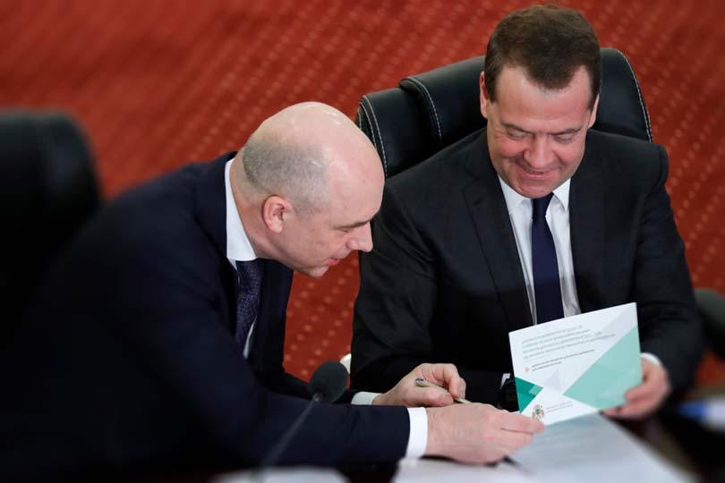 Силуанов и Медведев