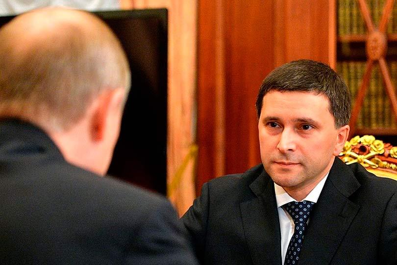 Кобылкин у Путина