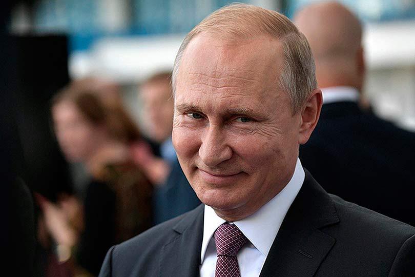 Стеснительный Путин