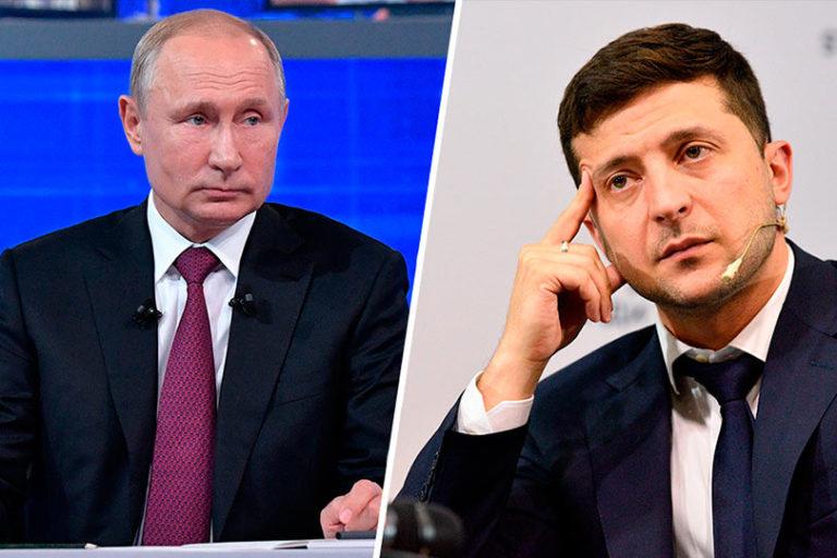 Президент Украины Зеленский начал вести прямой диалог с Путиным, что можно расценивать положительно