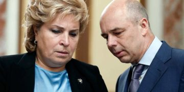 Татьяна Нестеренко и Силуанов
