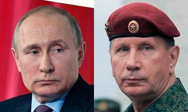 Золотов и Путин