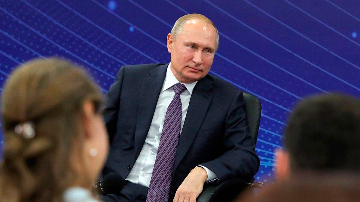 Путин в Калининграде