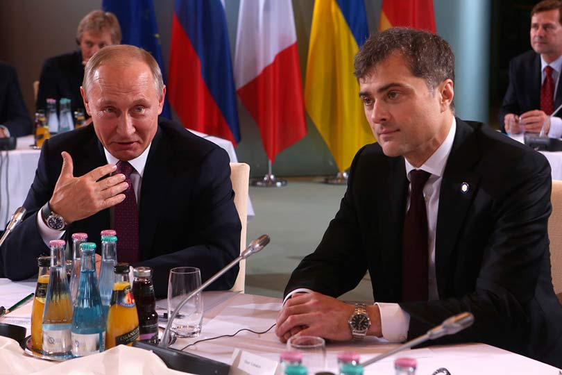 Сурков с Путиным