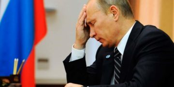 Путин расстроен