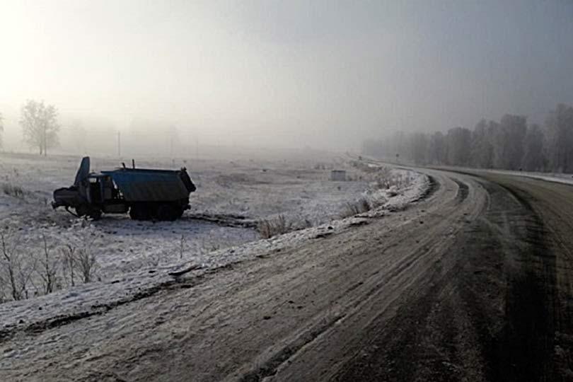 ДТП в Башкирии туман