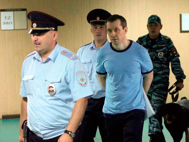 Осужденный Захарченко