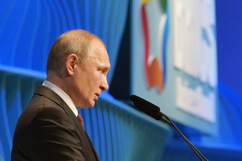 Путин на БРИКС