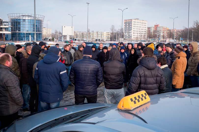 Московские таксисты