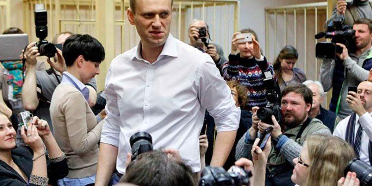 Навальный в суде