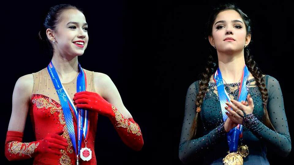 Медведева и Загитова