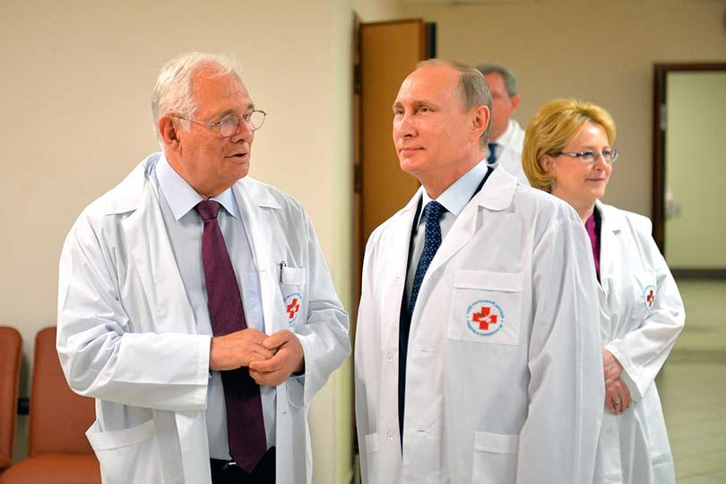Рошаль, Путин и Скворцова