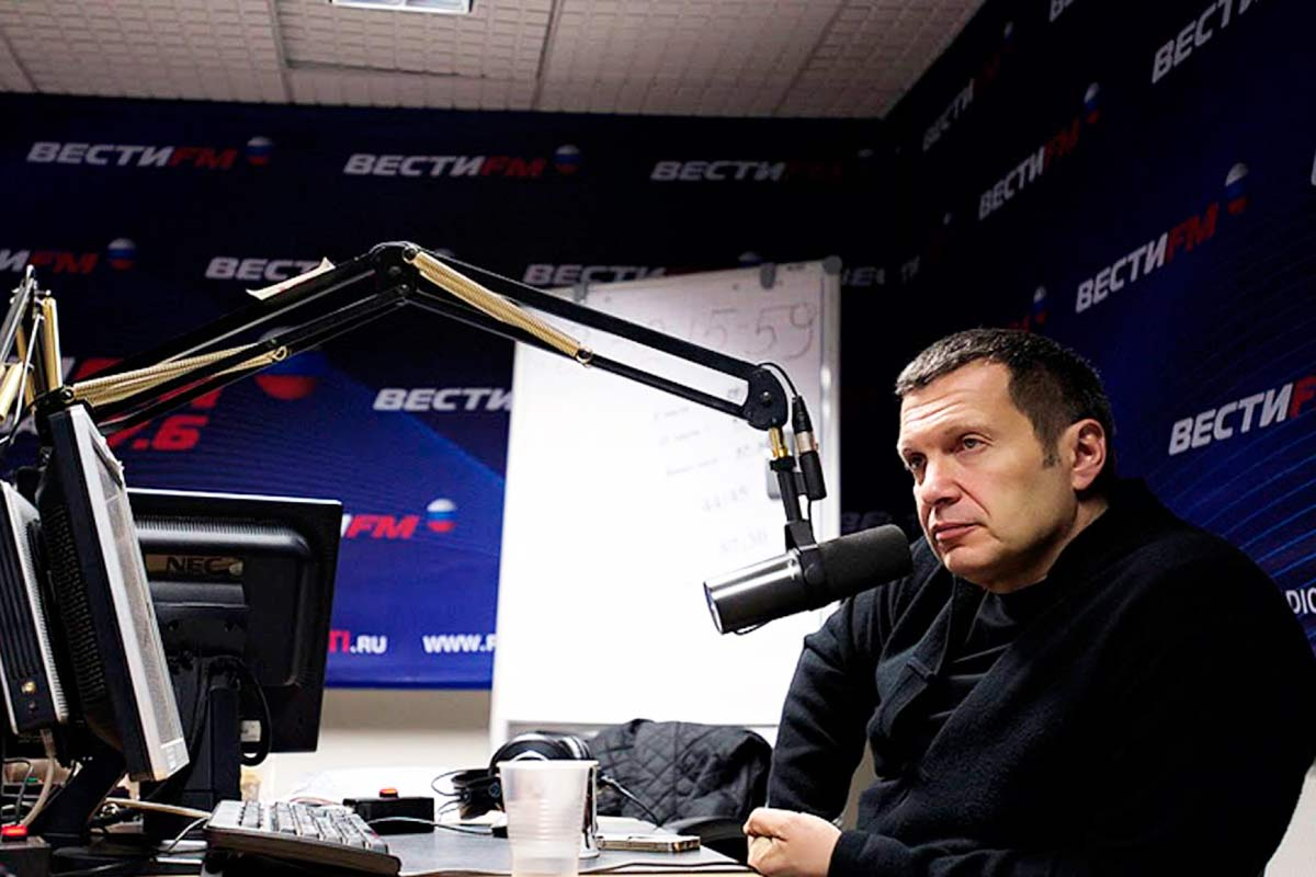 Соловьев на Вести ФМ